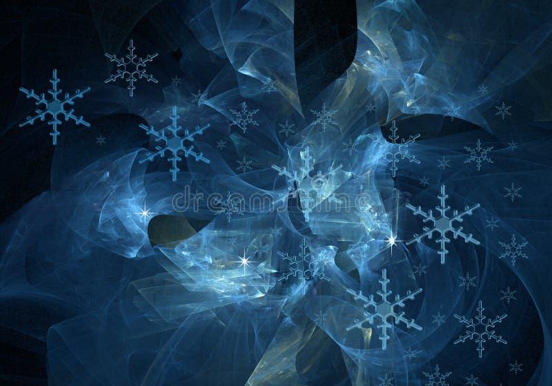 αφηρημένος χειμώνας απεικόνιση αποθεμάτων