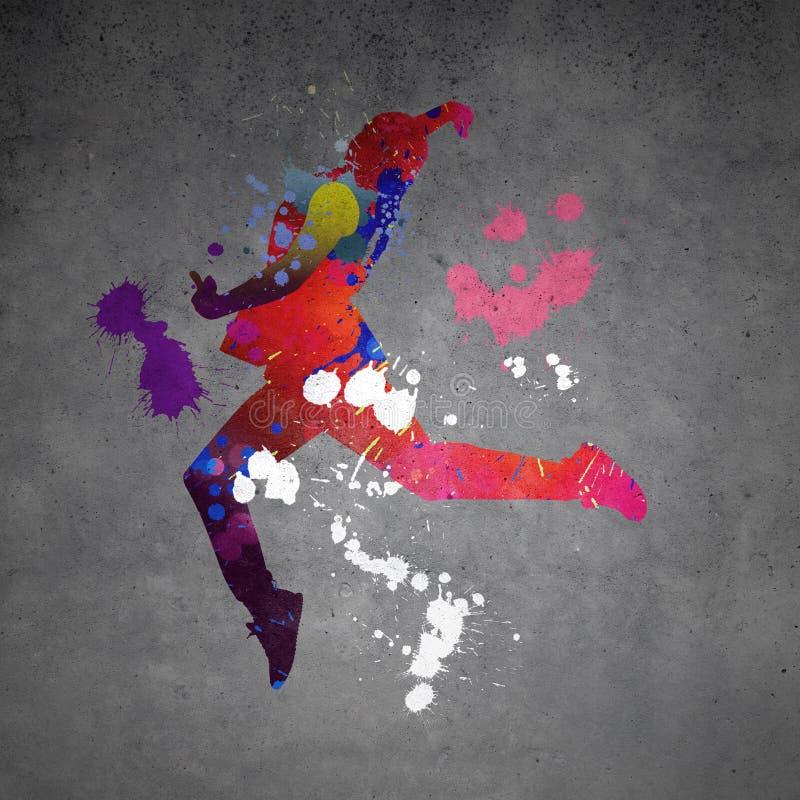 αφηρημένος χορευτής στοκ φωτογραφία με δικαίωμα ελεύθερης χρήσης