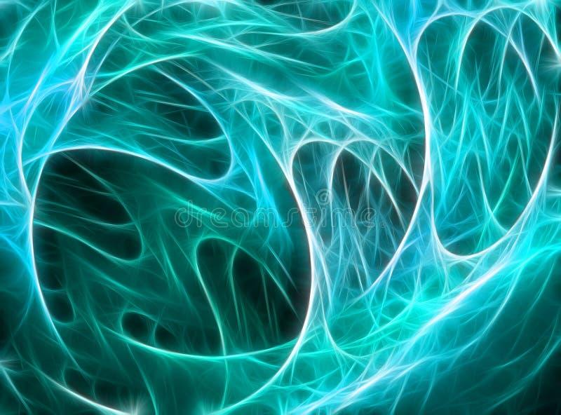 Αφηρημένος fractal υπολογιστής που παράγεται απεικόνιση αποθεμάτων