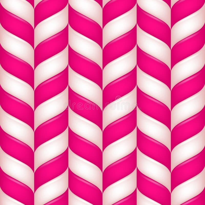 Αφηρημένο άνευ ραφής πρότυπο candys απεικόνιση αποθεμάτων