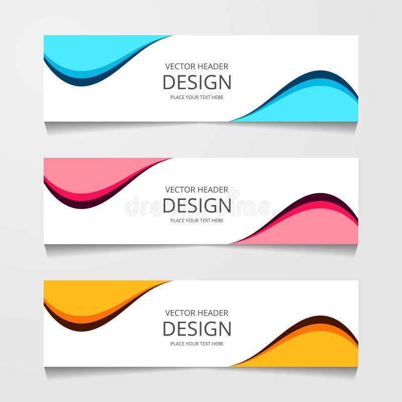 Αφηρημένο έμβλημα σχεδίου, πρότυπο Ιστού, πρότυπα επιγραφών σχεδιαγράμματος, σύγχρονη διανυσματική απεικόνιση ελεύθερη απεικόνιση δικαιώματος