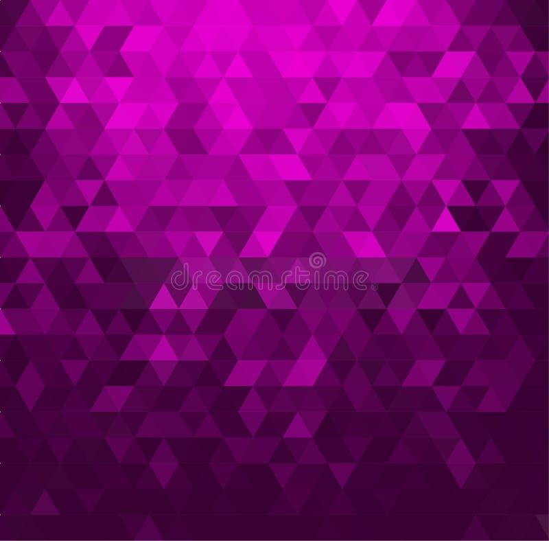 Αφηρημένο έμβλημα με τις μορφές τριγώνων ελεύθερη απεικόνιση δικαιώματος