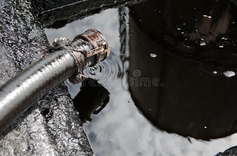 αφηρημένο ακατέργαστο διάνυσμα πετρελαίου απεικόνισης στοκ εικόνες