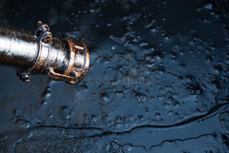 αφηρημένο ακατέργαστο διάνυσμα πετρελαίου απεικόνισης στοκ εικόνες με δικαίωμα ελεύθερης χρήσης