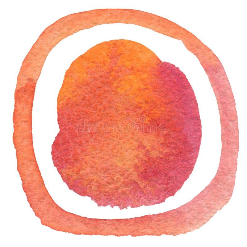 Αφηρημένο ακρυλικό και χρωματισμένο watercolor υπόβαθρο Textu στοκ εικόνες