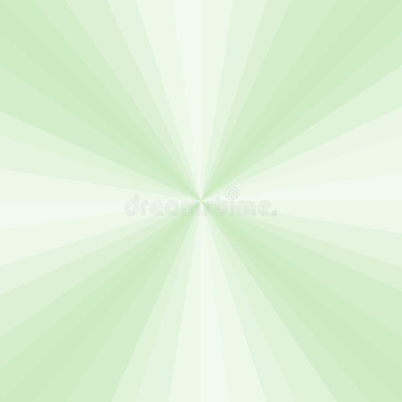 Αφηρημένο ανοικτό πράσινο υπόβαθρο ακτίνων βαθμολογήσεων r διανυσματική απεικόνιση