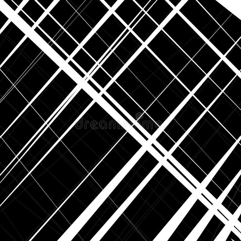 Αφηρημένο, ανώμαλο σχέδιο γραμμών, υπόβαθρο Μονοχρωματικό geomet απεικόνιση αποθεμάτων