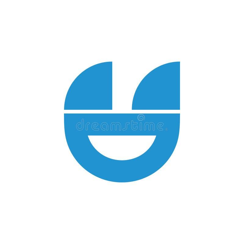 Αφηρημένο απλό γεωμετρικό διάνυσμα λογότυπων βαρκών πανιών διανυσματική απεικόνιση