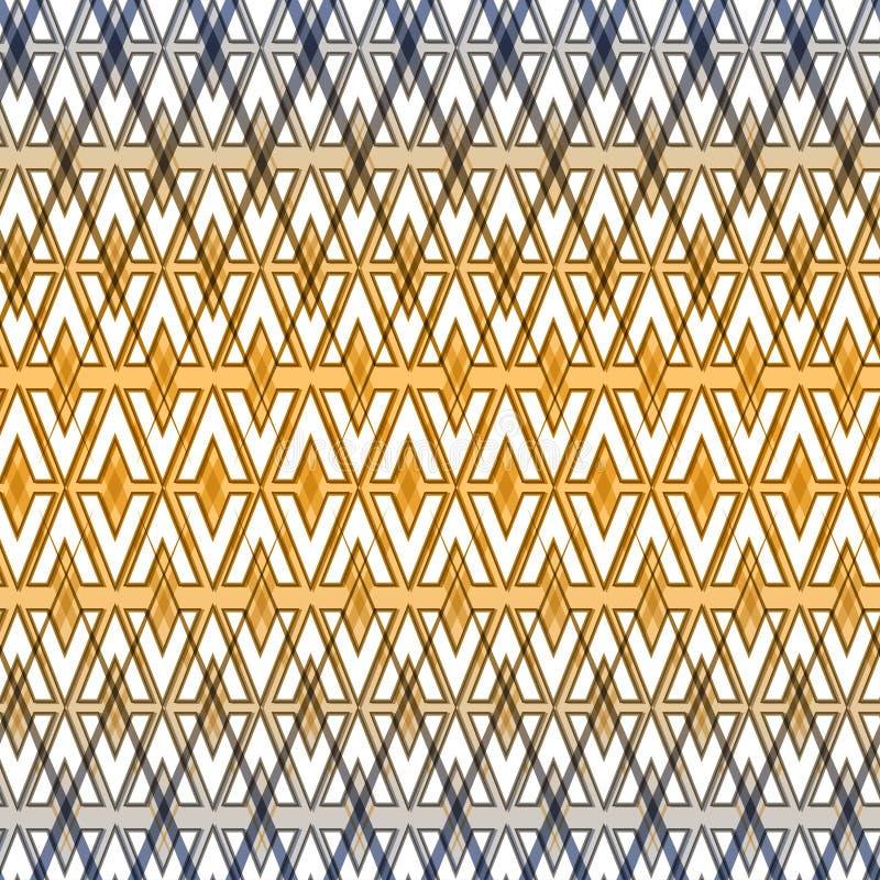 Αφηρημένο ασιατικό άνευ ραφής σχέδιο Εθνικό σχέδιο r Εθνική καταγωγή Αραβική αρχιτεκτονική απεικόνιση αποθεμάτων