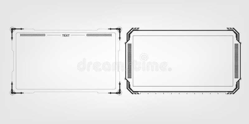 Αφηρημένο γεια υπόβαθρο σχεδιαγράμματος σχεδίου προτύπων τεχνολογίας φουτουριστικό ελεύθερη απεικόνιση δικαιώματος