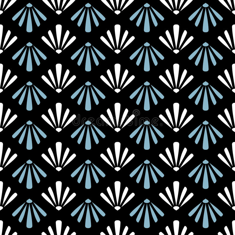 Αφηρημένο γεωμετρικό άνευ ραφής υπόβαθρο σχεδίων διανυσματική απεικόνιση