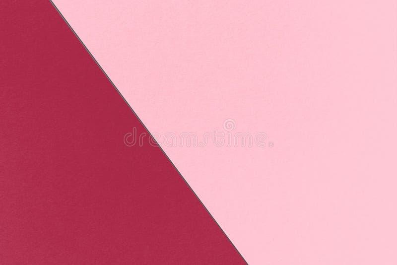 Αφηρημένο γεωμετρικό κόκκινο υπόβαθρο κερασιών με Burgundy ανθών κερασιών τα ρόδινα και ζωηρά χρώματα, σύσταση εγγράφου watercolo στοκ εικόνες