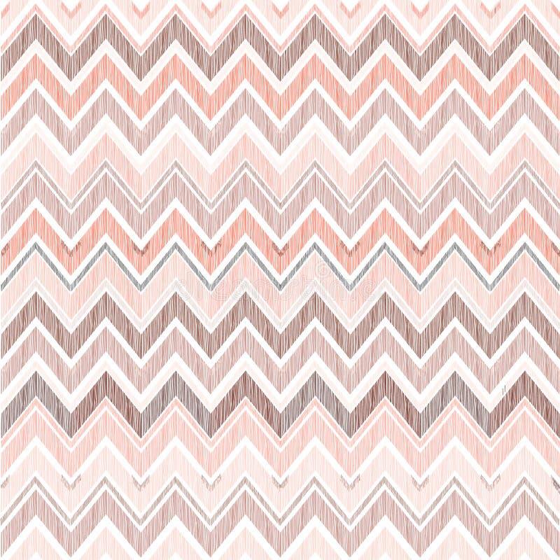 αφηρημένο γεωμετρικό πρότ&upsilon Γραμμή τρεκλίσματος υφάσματος doodle στοκ εικόνες