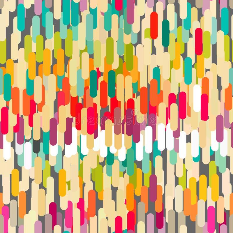 αφηρημένο γεωμετρικό πρότ&upsilon διανυσματική απεικόνιση