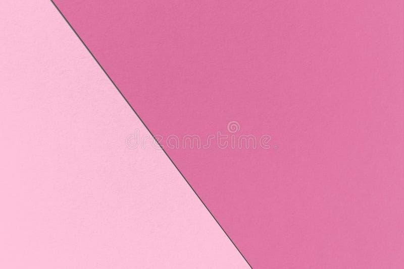 Αφηρημένο γεωμετρικό ρόδινο υπόβαθρο με τα χλωμά ρόδινα χρώματα κόκκινος-βιολέτων και καμεών, σύσταση εγγράφου watercolor στοκ φωτογραφίες