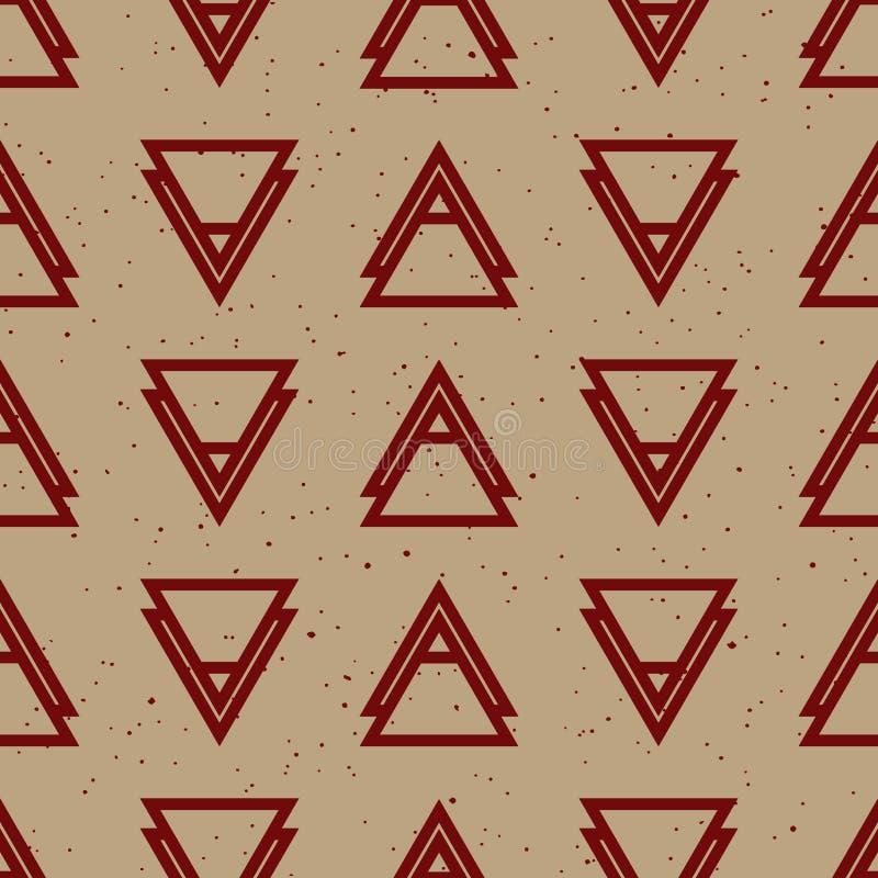 Αφηρημένο γεωμετρικό σχέδιο μόδας hipster στοκ φωτογραφίες