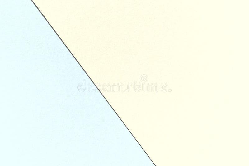 Αφηρημένο γεωμετρικό υπόβαθρο κρητιδογραφιών με Cornsilk και τα υδατοχρώματα, σύσταση εγγράφου watercolor στοκ φωτογραφία