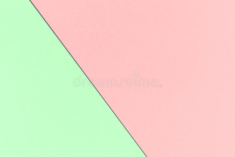 Αφηρημένο γεωμετρικό υπόβαθρο κρητιδογραφιών ουράνιων τόξων με το πεπόνι και τα μαγικά χρώματα μεντών, σύσταση εγγράφου watercolo στοκ φωτογραφία με δικαίωμα ελεύθερης χρήσης