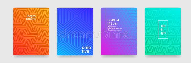 Αφηρημένο γεωμετρικό υπόβαθρο σχεδίων με τη σύσταση γραμμών για το πρότυπο αφισών σχεδίου κάλυψης επιχειρησιακών φυλλάδιων ελεύθερη απεικόνιση δικαιώματος