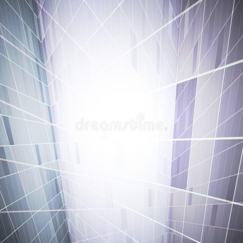 Αφηρημένο γεωμετρικό υπόβαθρο απεικόνιση αποθεμάτων