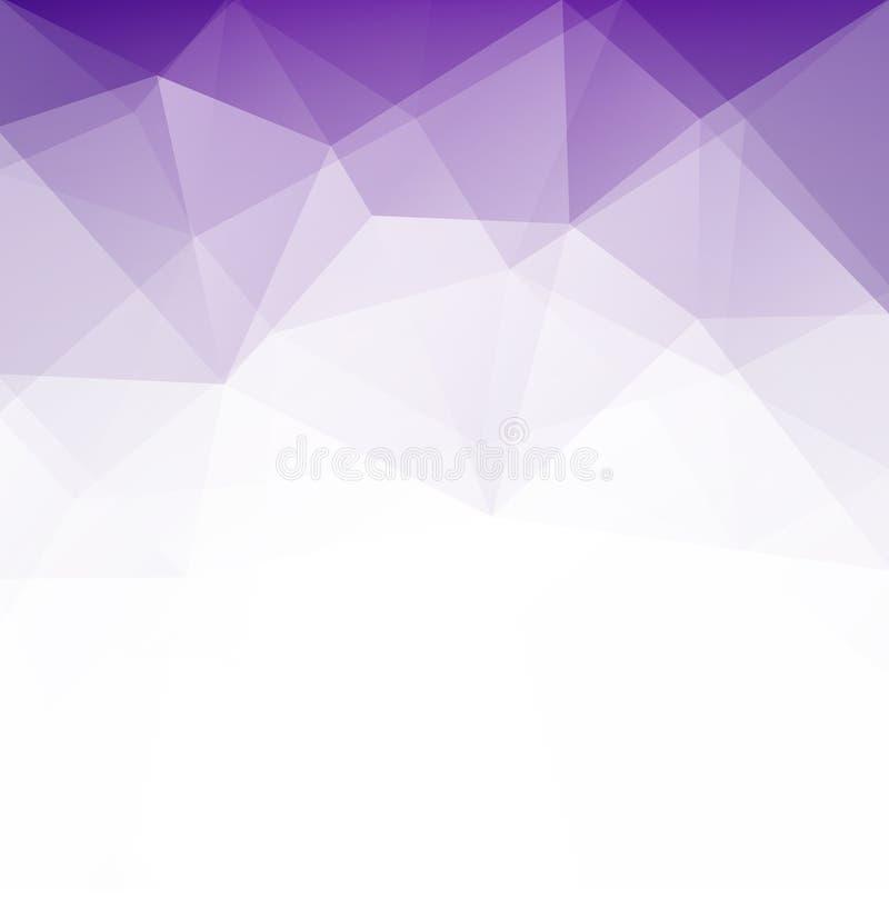 Αφηρημένο γεωμετρικό polygonal υπόβαθρο διανυσματική απεικόνιση