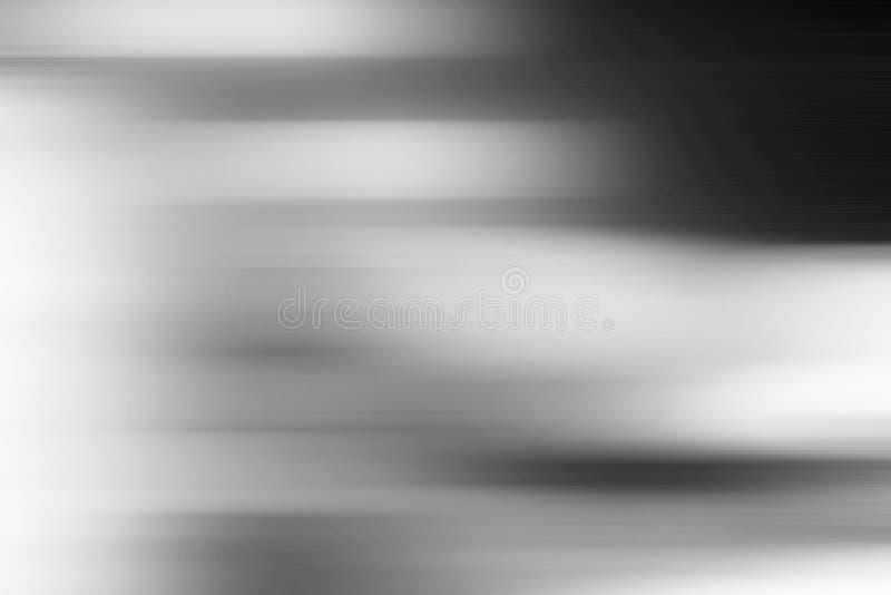 Αφηρημένο γκρίζο υπόβαθρο με τις θολωμένες γραμμές στοκ φωτογραφία