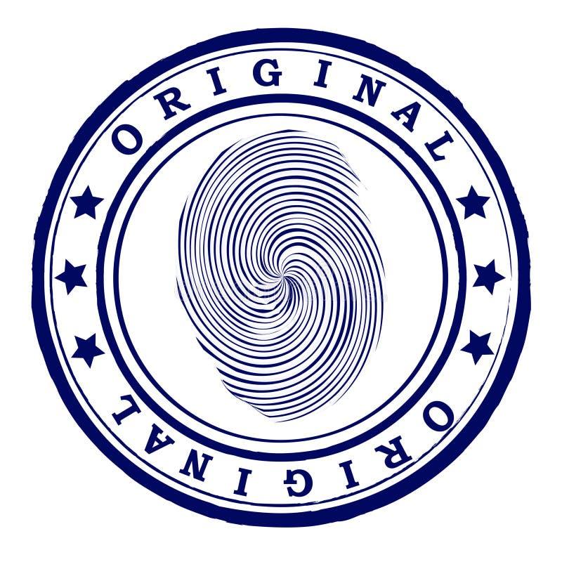 αφηρημένο γραμματόσημο απεικόνιση αποθεμάτων