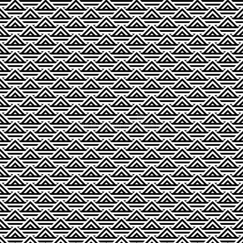 Αφηρημένο γραπτό υπόβαθρο σχεδίων τριγώνων απεικόνιση αποθεμάτων