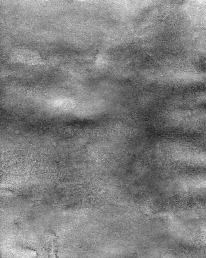 Αφηρημένο γραπτό υπόβαθρο σύστασης watercolor μαρμάρινο ακρυλικό απεικόνιση αποθεμάτων