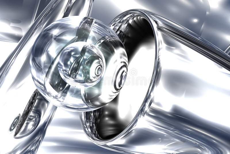 αφηρημένο γυαλί διανυσματική απεικόνιση