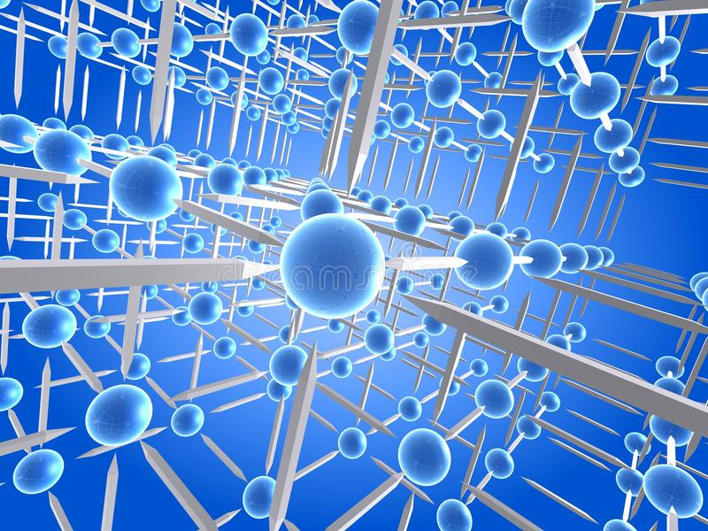 αφηρημένο δίκτυο διανυσματική απεικόνιση