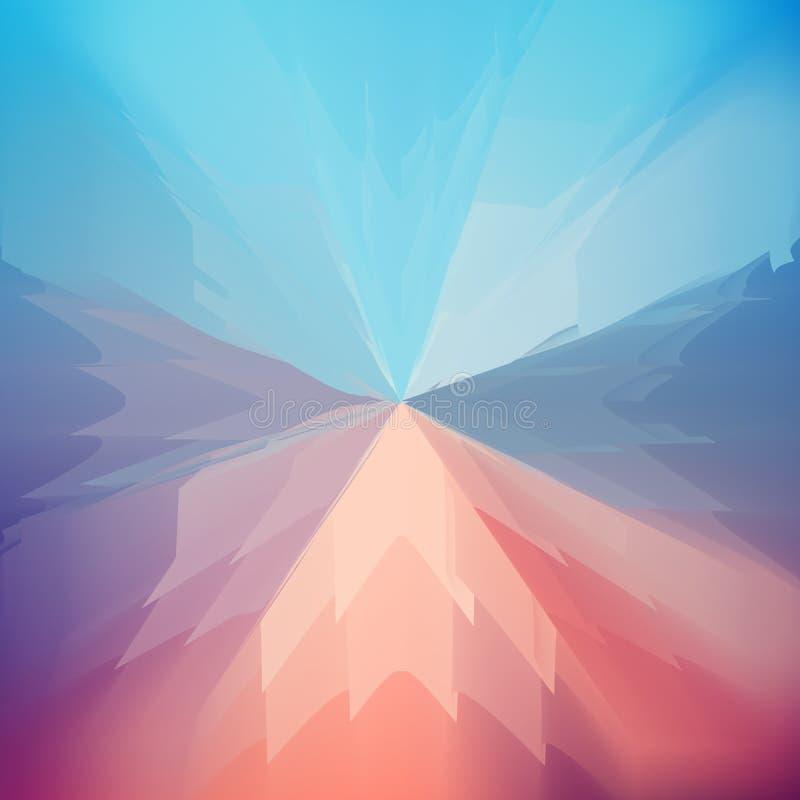Αφηρημένο δημιουργικό μαλακό πολύχρωμο θολωμένο υπόβαθρο απεικόνιση αποθεμάτων