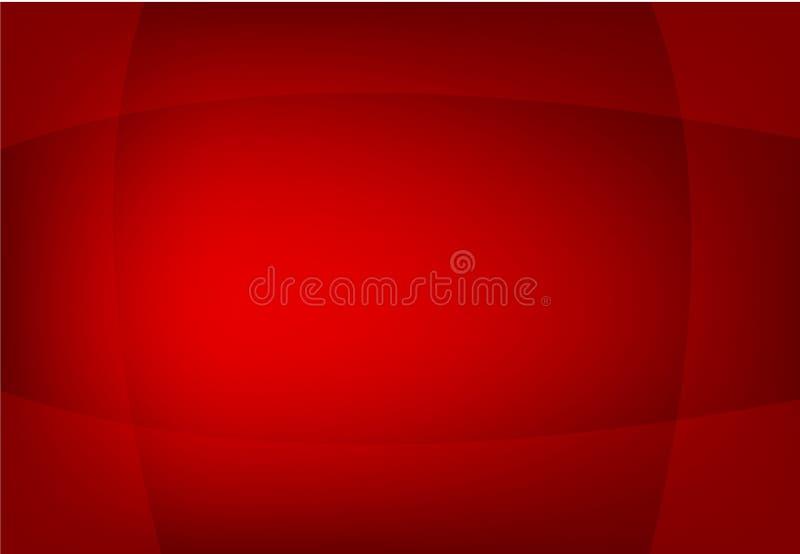 Αφηρημένο διαμορφωμένο κύμα διανυσματικό υπόβαθρο κόκκινου χρώματος, ταπετσαρία για οποιοδήποτε σχέδιο ελεύθερη απεικόνιση δικαιώματος
