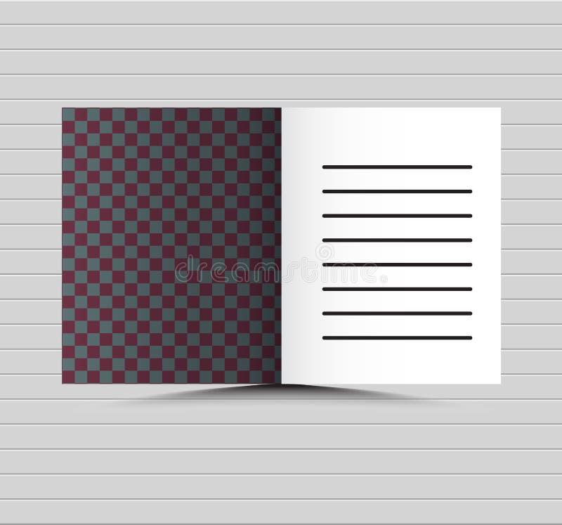 Αφηρημένο διανυσματικό σύγχρονο πρότυπο σχεδίου φυλλάδιων με το ανοικτό μπλε γεωμετρικό υπόβαθρο υψηλής τεχνολογίας διανυσματική απεικόνιση
