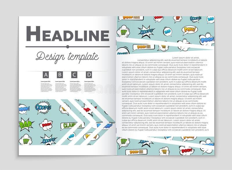 Αφηρημένο διανυσματικό σύνολο υποβάθρου σχεδιαγράμματος Για το σχέδιο προτύπων τέχνης, κατάλογος, πρώτη σελίδα, ύφος θέματος φυλλ απεικόνιση αποθεμάτων