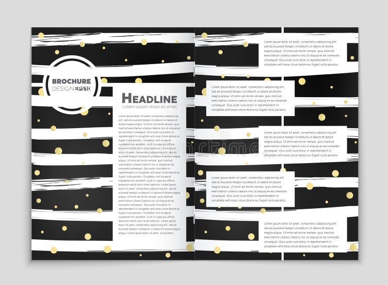 Αφηρημένο διανυσματικό σύνολο υποβάθρου σχεδιαγράμματος Για το σχέδιο προτύπων τέχνης, κατάλογος, πρώτη σελίδα, ύφος θέματος φυλλ διανυσματική απεικόνιση