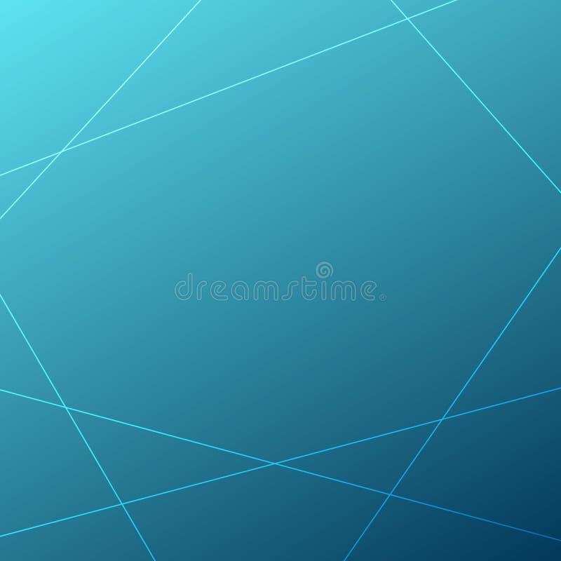 Αφηρημένο διανυσματικό υπόβαθρο γραμμών Πλαίσιο δειγμάτων Μπλε απεικόνιση κλίσης για το κείμενο, πρότυπο, σχέδιο Ιστού, infograph απεικόνιση αποθεμάτων