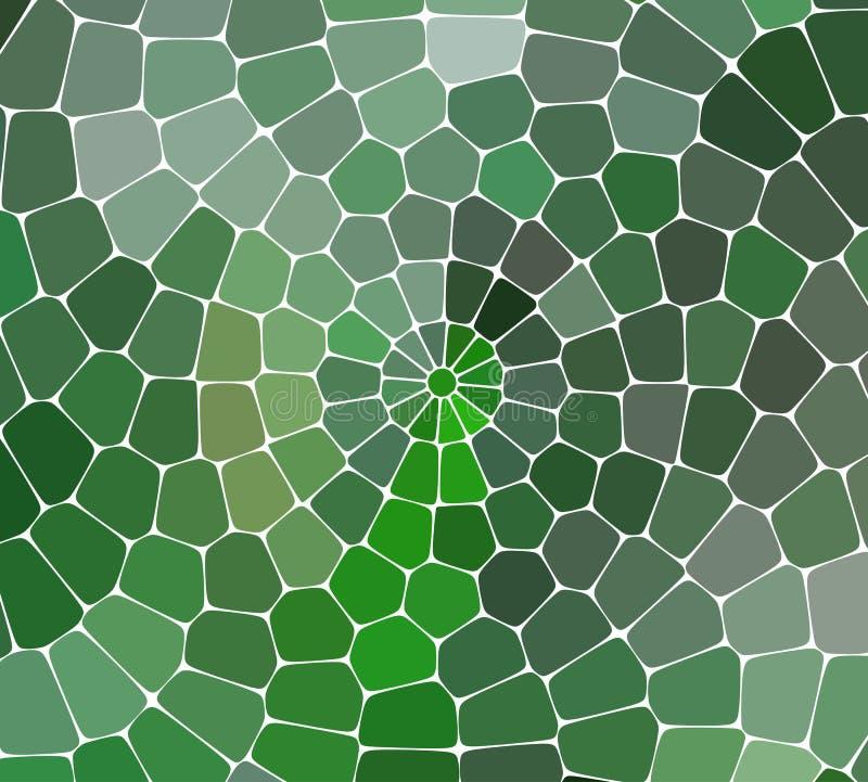Αφηρημένο διανυσματικό stained-glass υπόβαθρο μωσαϊκών απεικόνιση αποθεμάτων