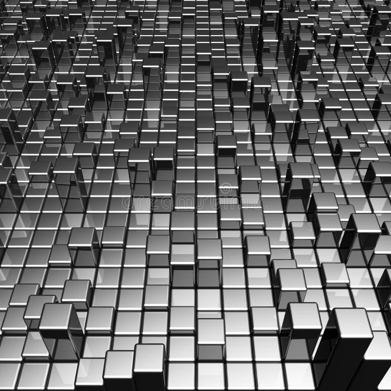 αφηρημένο δυναμικό μέταλλ&omic διανυσματική απεικόνιση