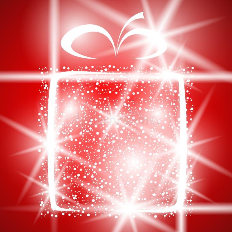 αφηρημένο δώρο Χριστουγέν&nu απεικόνιση αποθεμάτων