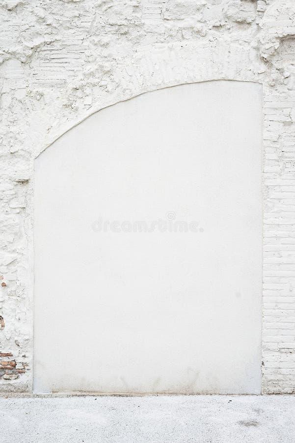 Αφηρημένο εκλεκτής ποιότητας κενό υπόβαθρο Φωτογραφία της παλαιάς άσπρης χρωματισμένης σύστασης τουβλότοιχος Άσπρη πλυμένη brickw στοκ φωτογραφία με δικαίωμα ελεύθερης χρήσης