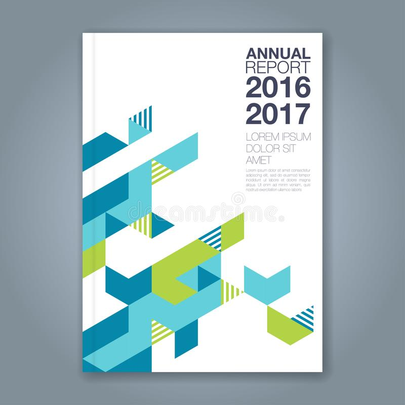 Αφηρημένο ελάχιστο γεωμετρικό υπόβαθρο γραμμών για το βιβλίο επιχειρησιακών ετήσια εκθέσεων απεικόνιση αποθεμάτων