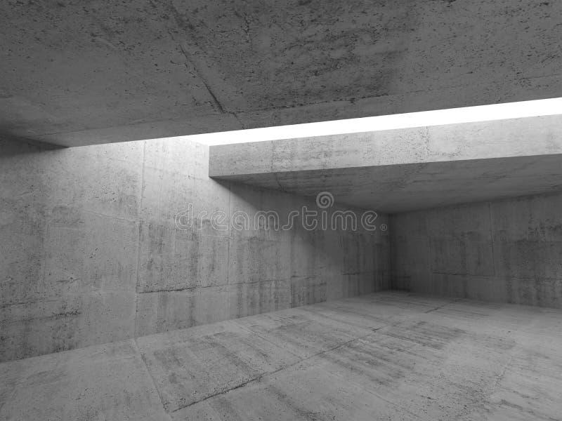 Αφηρημένο ελάχιστο υπόβαθρο αρχιτεκτονικής τρισδιάστατο ελεύθερη απεικόνιση δικαιώματος