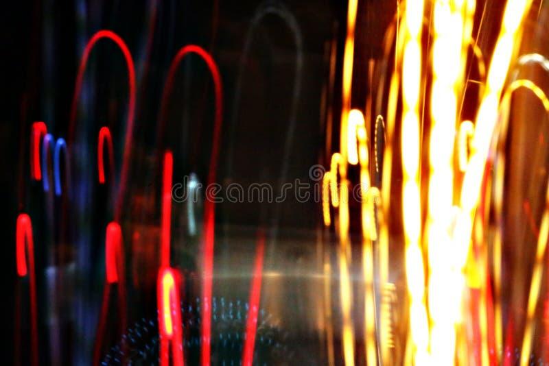 Αφηρημένο ελαφρύ υπόβαθρο σε κίνηση στοκ φωτογραφίες