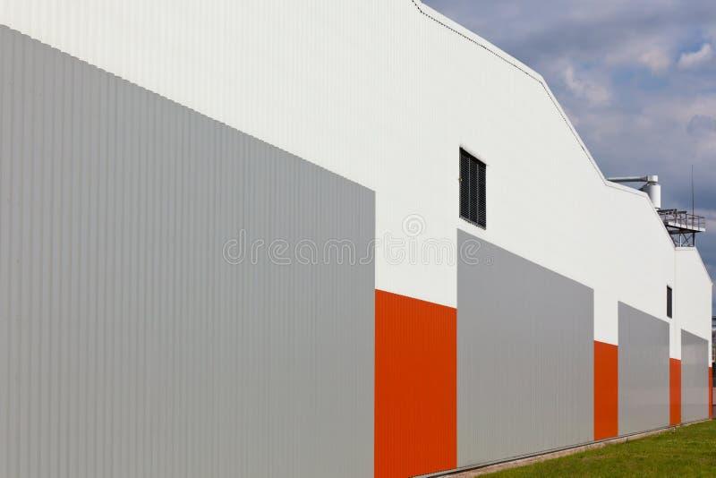 Αφηρημένο εξωτερικό τοίχων αποθηκών εμπορευμάτων στοκ εικόνα