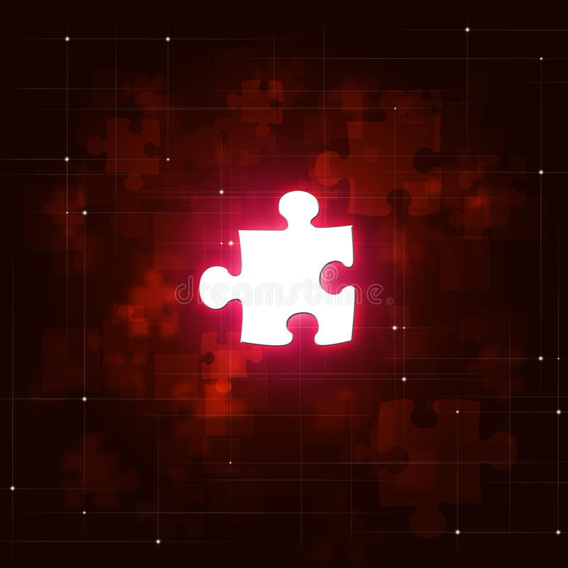 Αφηρημένο επιχειρησιακό κόκκινο υπόβαθρο γρίφων στοκ φωτογραφία