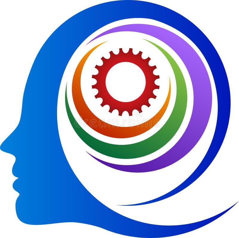 Αφηρημένο εργαλείο μυαλού διανυσματική απεικόνιση