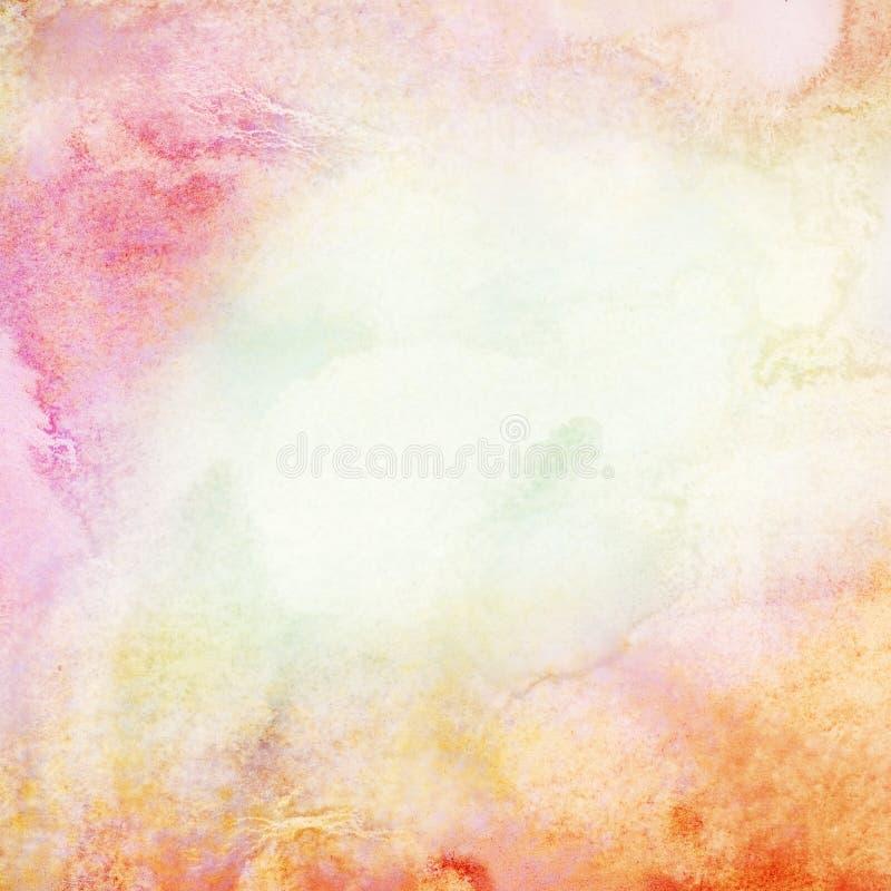 Αφηρημένο ελαφρύ υπόβαθρο watercolor. απεικόνιση αποθεμάτων
