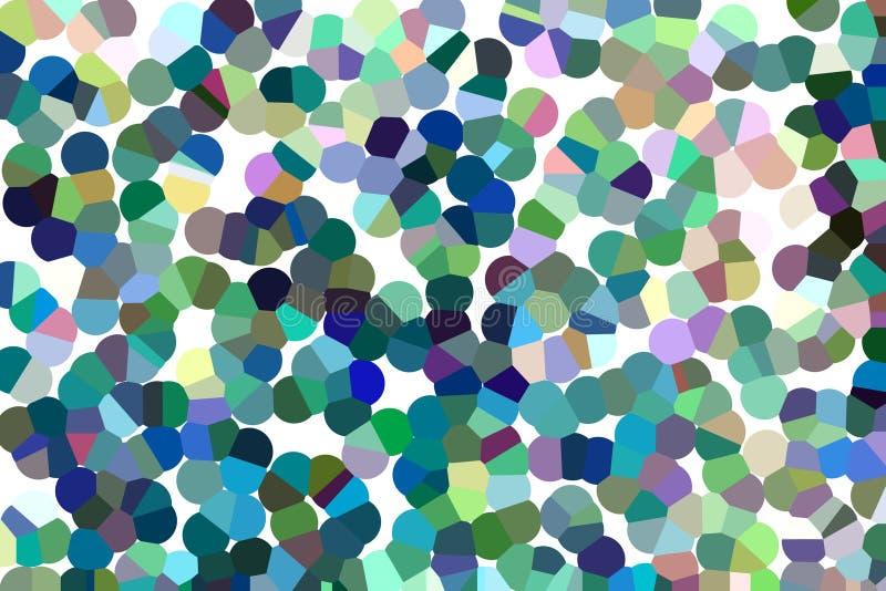 Αφηρημένο ζωηρόχρωμο υπόβαθρο τέχνης στο ύφος pointillism στοκ φωτογραφίες με δικαίωμα ελεύθερης χρήσης