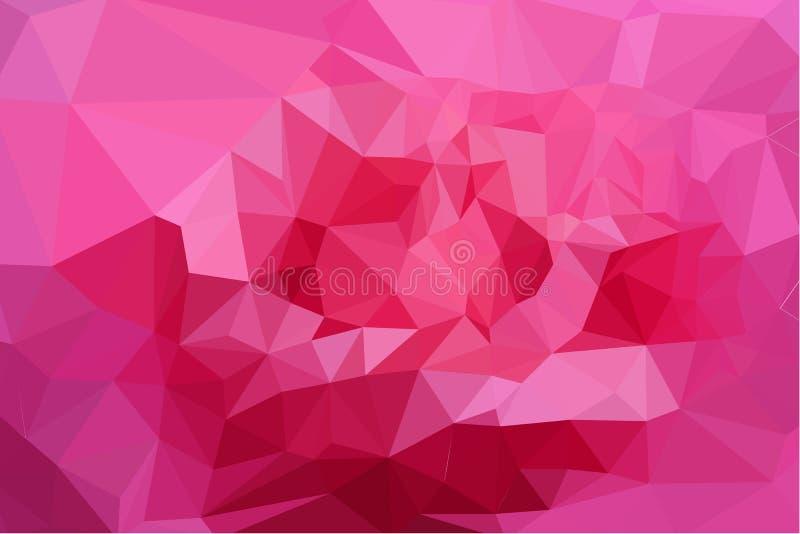 Αφηρημένο ζωηρόχρωμο υπόβαθρο τριγώνων ελεύθερη απεικόνιση δικαιώματος